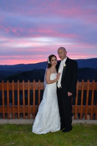 Sunset weddings at Angel's View