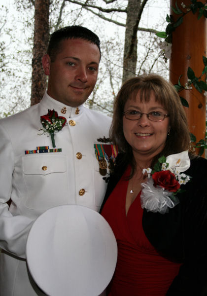 military weddings in pigeon forge