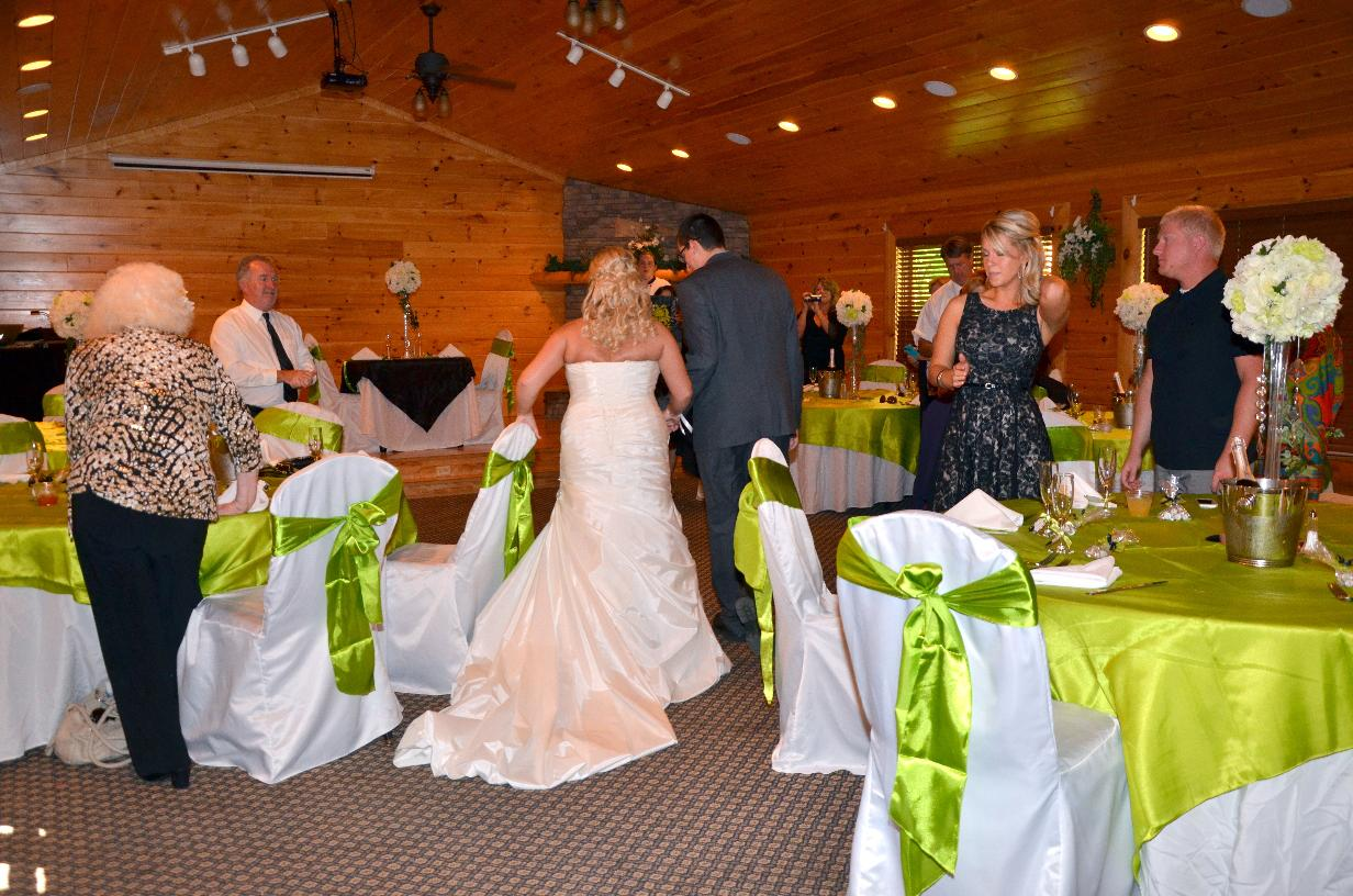 receptions in black bear ridge resort