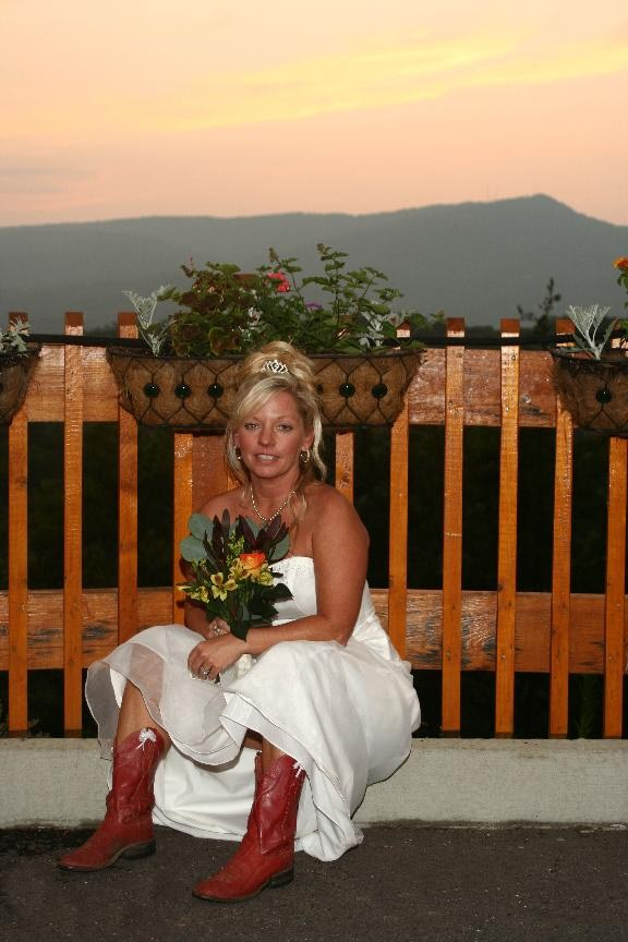 sunset weddings in pigeon forge