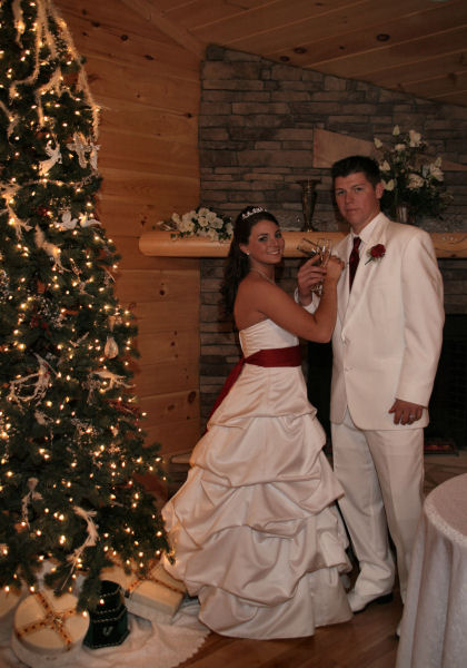 wedding receptions in pigeon forge